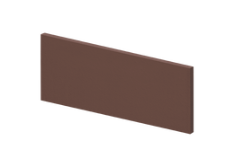 King Klinker 03Natural brown Venetian ступень боковая панель