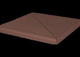 King Klinker 03Natural brown Venetian ступень угловой сегмент