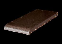 02 Brown-glazed подоконник