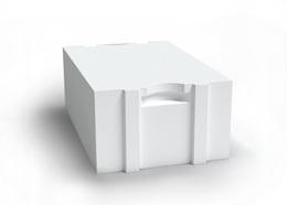 AEROC блок для стен паз-гребень D400