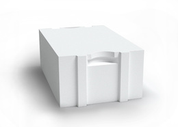 AEROC блок для стен паз-гребень D500
