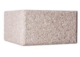 Половинка магма тычек Тадж белый BA-12  Brick House