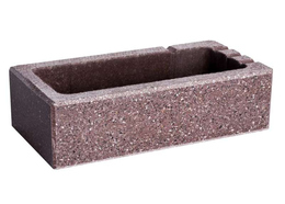 Стандартный полированный Нарбон бордо Brick House