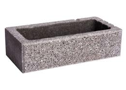 Заборный 2-стороний полированный Гранит серый Brick House