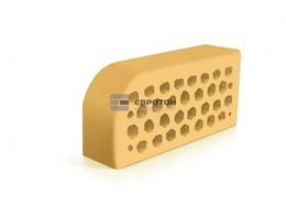 Фасонный кирпич Евротон ВФ-5 желтый
