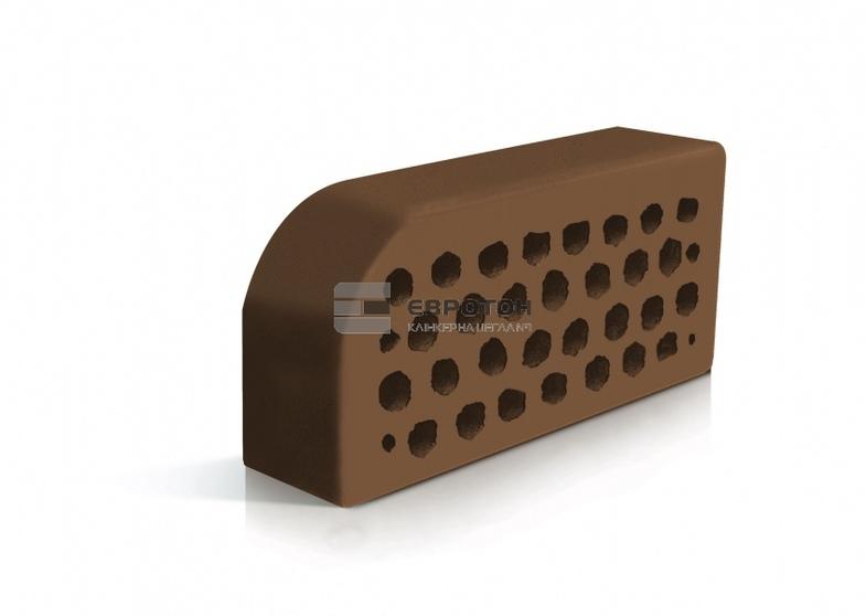 Фасонный кирпич Евротон ВФ-5 коричневый