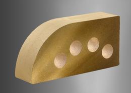 Облицовочный кирпич Литос фасонный пустотелый
