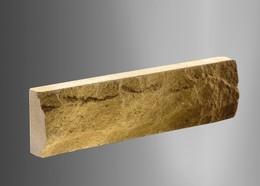 Облицовочный кирпич Литос тонкая Скала желтый