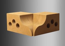Облицовочный кирпич Литос угловой элемент