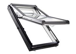 Окно с поднятой осью открывания Designo WDF R79 K WD AL (утеплённое)