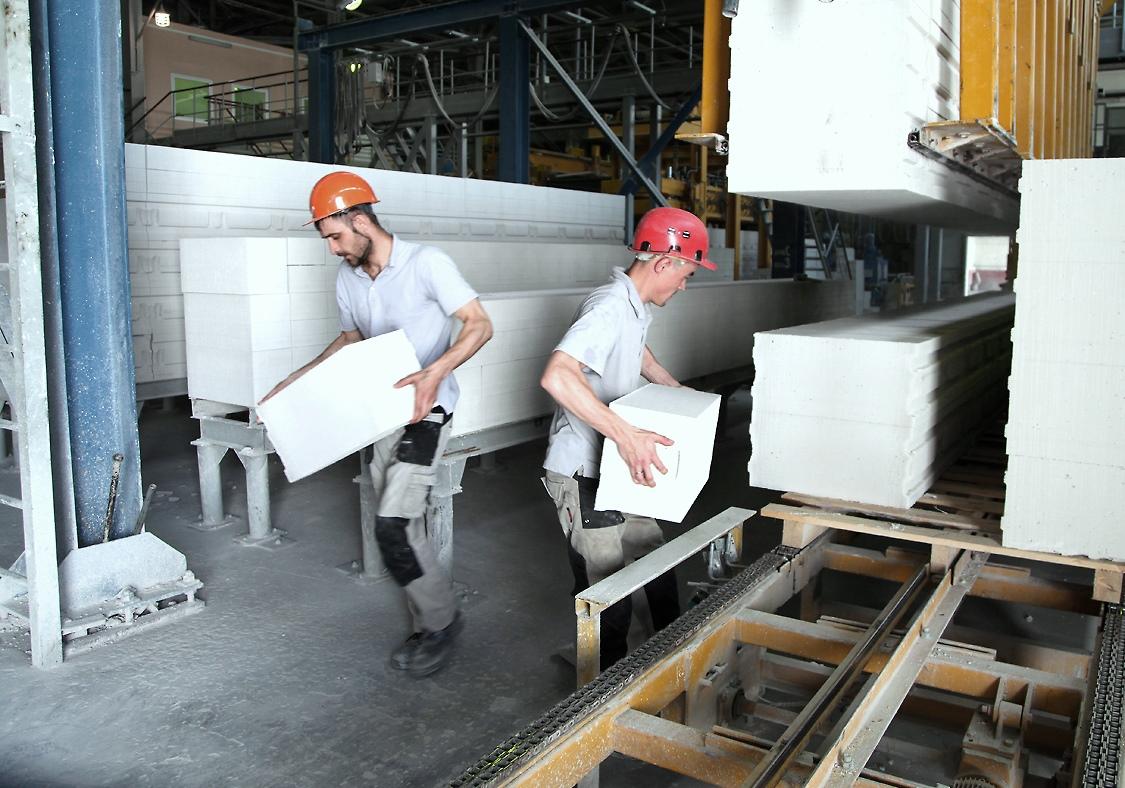 газосиликатные блоки производство